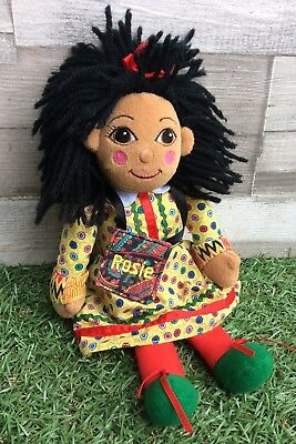 """Rosie from Rosie And Jim 10"""" Soft Toy Plush Canal Boat Barge Rag Doll With Bag"""
