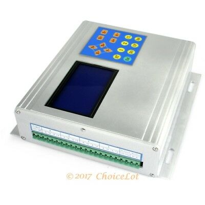 4 Axis CNC Router TB6560 Stepper Driver + Display + Control Pad + Aluminium Box