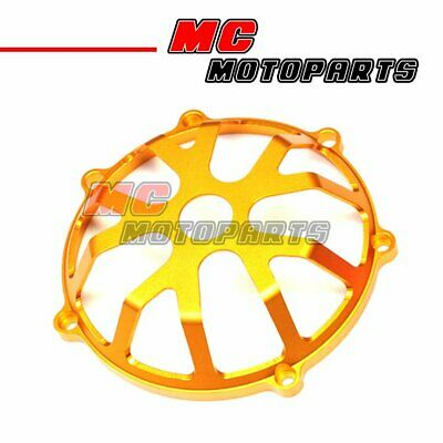 Gold For Ducati Open Billet Clutch Cover 748 999 1098 1198 S R 916 998 CC01