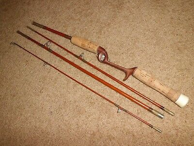 Vintage Eagle Claw FreLine Packit 4FRC Baitcasting 6-1/2' Rod made in USA