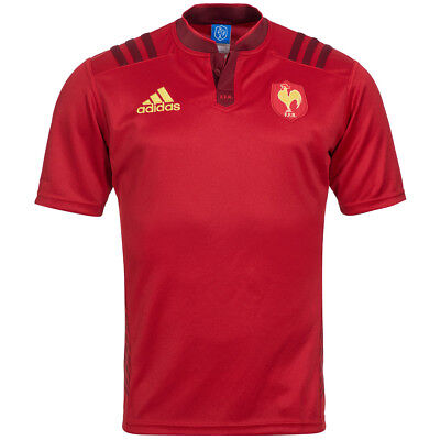 France Adidas Men's Rugby Away Jersey s07490 S M L XL XXL FFR FRANCE