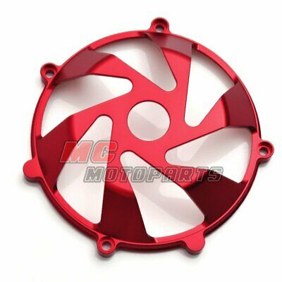 Red For Ducati Billet Clutch Cover For Multistrada 1000 1100 DS ST2 ST4 S CC15