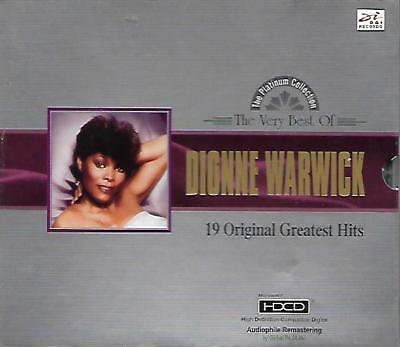 The Very Best of Dionne Warwick 19 Original Greatest Hits CD HDCD NEW Music