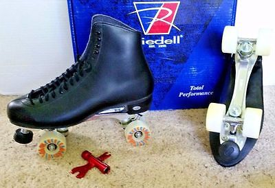 Riedell #120 Leather men's size 14 or 16 precision rink skates  NEW!