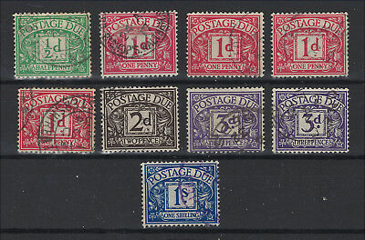 GB - Postage Due - Lot of Various Unsorted - Used