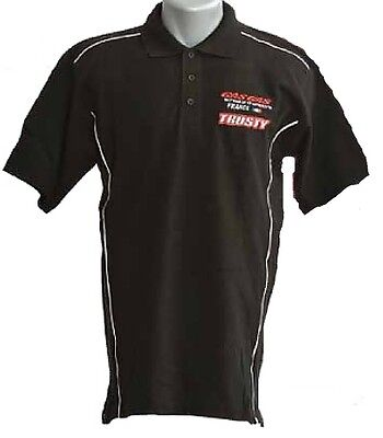 TRUSTY TFGG4512 Polo Moto GasGas France Manches courtes Noir Taille M