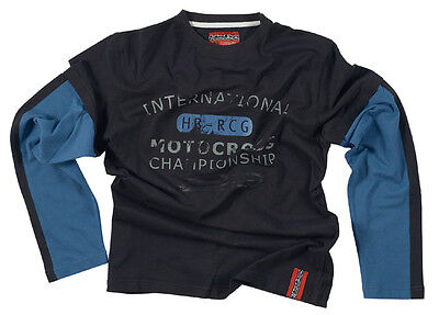 HEBO HM5415 Tee Shirt T-Shirt Moto Manches Longues SW 06-HB RCG Taille L