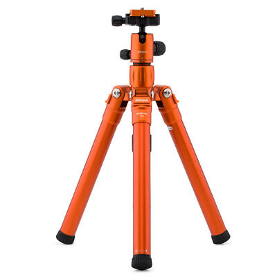 MeFoto Roadtrip Air Orange Aluminum Travel Tripod / Selfie Stick Kit