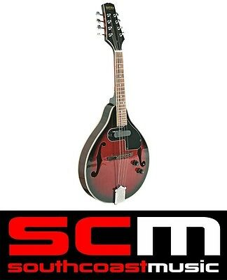 Bryden Mandolin Sma50E Electric Acoustic Arch Top Red Sunburst