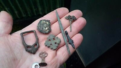 Handful Of Mostly Medieval Artefacts