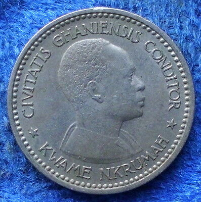 GHANA - 1 shilling 1958 KM# 5 Standard Coinage (1957-1964) - Edelweiss Coins