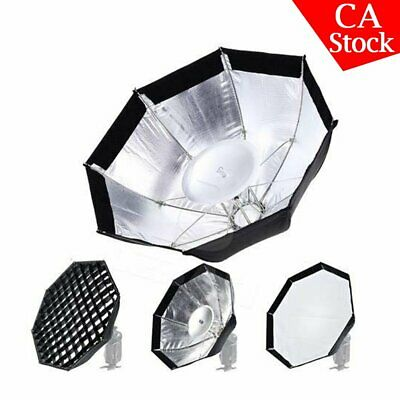 "Godox AD-S7 Grid Octagonal Softbox 18"" Multi Folding for AD200 AD360 AD180 Flash"