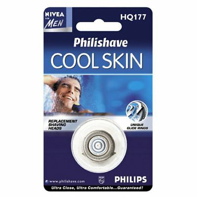 Philips Cool Skin Replacement Shaving Heads HQ 177 für HQ7740,7760,7780  WW