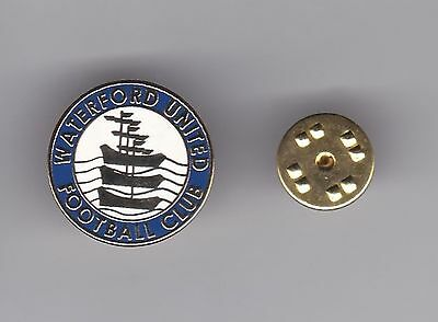 Waterford United ( Ireland ) - lapel badge butterfly fitting