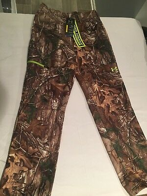 NWT $89.99 Under Armour CG Mens Fleece Scent Control Pants Realtree Xtra LARGE