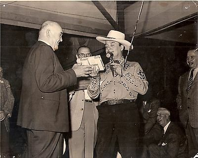 Original Press Photo- Heavyweight Champion James Jeffries Leo Carrillo Cisco Kid