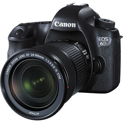 Canon EOS 6D DSLR Camera with 24-105mm STM Lens Japanese Version US