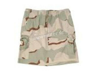 US Army Rock Women Skirt BDU Ripstop 3-color Desert Camo Gr 36 Minirock