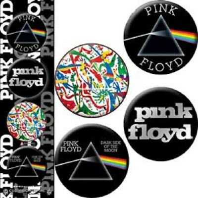 Pink Floyd - 4 x 3cm Button Set