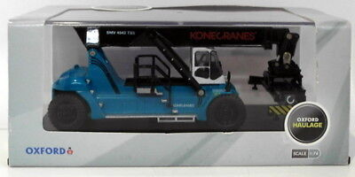 Oxford Diecast 1/76 Scale 76KRS001 - Konecranes Reach Stacker Blue