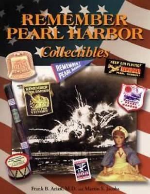 Remember Pearl Harbor Collectibles book WWII WW2 Pin