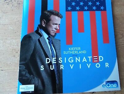Designated Survivor  Tv Show Book Press Kit Fyc For Your Consideration