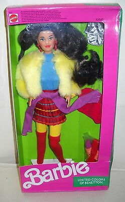 #3113 NRFB Mattel United Color of Benetton Kira (Barbie) Doll Foreign Issue