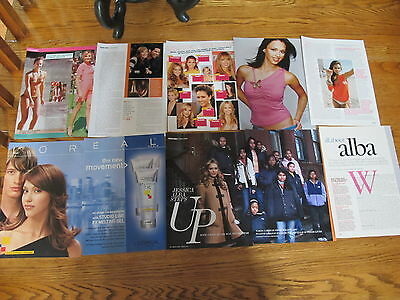 Jessica Alba Big Lot French Us Clippings,covers.