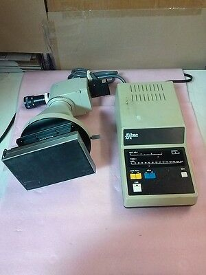 NIKON Model AFX Microscope Camera Exposure Controller with Accessories