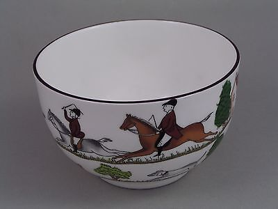 Coalport Hunting Scenes Large Sugar Bowl.