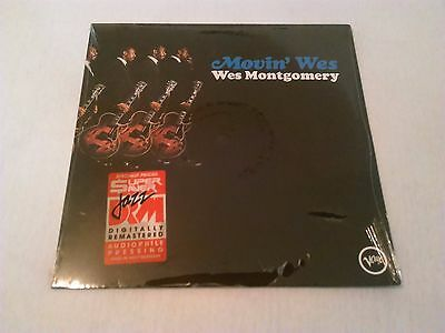 Wes Montgomery - Movin' Wes Lp Mint / Sealed!!!! German Remastered Audiophile