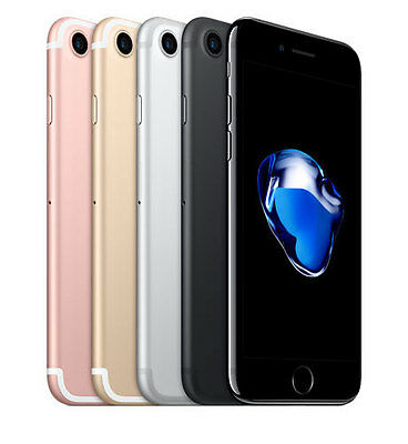 "Apple iPhone 7 ""Factory Unlocked"" 32GB 4G LTE iOS WiFi Smartphone"