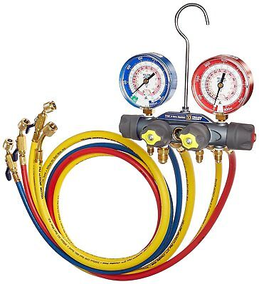 Yellow Jacket 49967 Titan Test & Charging Manifold With Hoses USA
