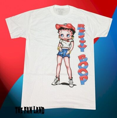 New Betty Boop Mens Street Classic Vintage T-Shirt
