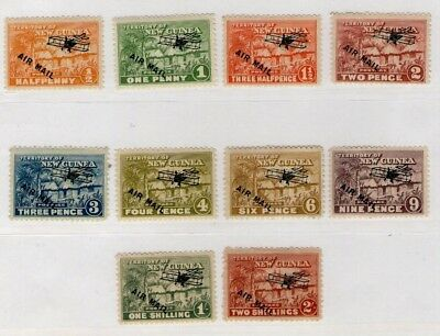 New Guinea Hut Airmail Stamps