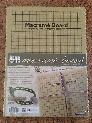 Beadsmith Large & Mini Macrame Boards shamballa knotting jewellery craft