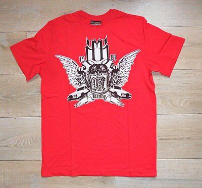 KENNY T-Shirt Tee Shirt Moto Modèle LIFE STYLE Taille L Rouge
