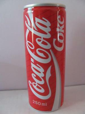 Vintage 1990 250ml Coca Cola Coke Can From JAPAN Full Contents
