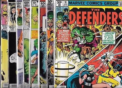 The Defenders Lot Of 16 #91 #93 #114 #115 #119 #123 #127 #129 #131 #135 + 6 More