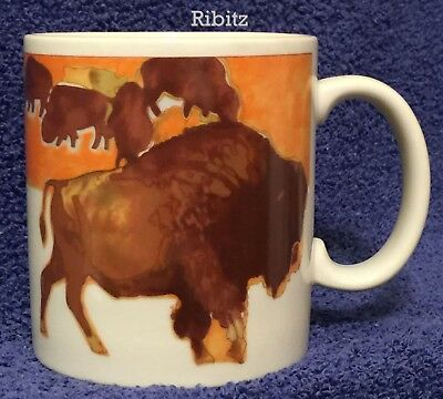 MUG cup - BIG BUFFALLO and Little Herd - Scout Wood Badge Patrol gift -