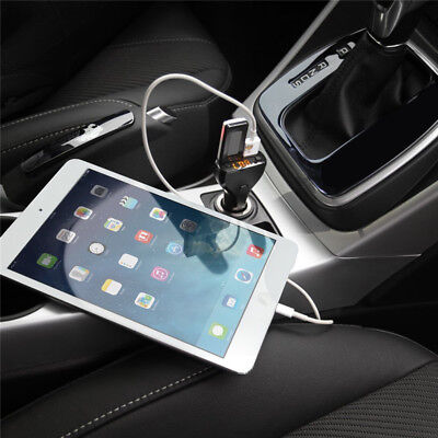 Bluetooth Handsfree Car Kit Charger FM Transmitter Audio MP3 Player for iPhone