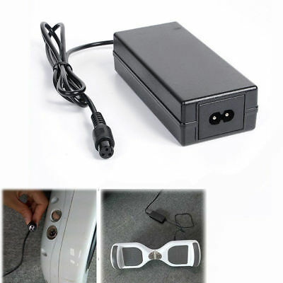 DC 42V 2A Battery Charger Adapter Power Supply for Balance Shilly Scooter Car EU