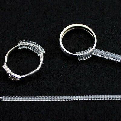 20pcs Ring Size Adjuster Snuggies Insert Guard Tightener Reducer Resizing Fitter