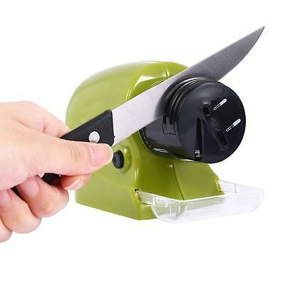Home Electric Knife Sharpener Cordless Power Sharpening Motorized Grinding Tool