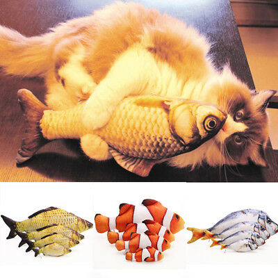 Fish Shape Pet Cat Catnip Chewing Catmint Funny Interactive Toy New Hot