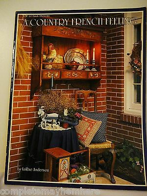 Folk Art Finish Presents A Country French Feeling by LaRae Anderson