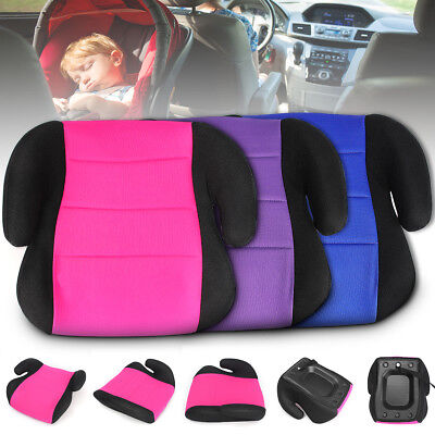 Car Booster Seat Safe Sturdy CRS Pad For 3-12 Y Kids Baby Child Children Toddler
