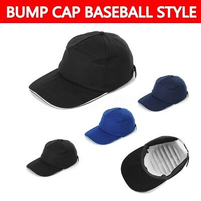 Bump Cap Vented Safety Hard Hat Scalp Head Protection Mechanic Baseball