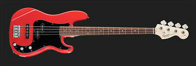 Squier by Fender AFFINITY PJ  BASS RED SERIES BASSO ELETTRICO,NUOVO