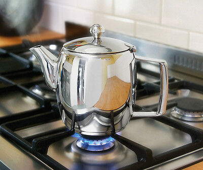 JUDGE STAINLESS STEEL HOB TOP TEAPOT 1.0L / 35oz
